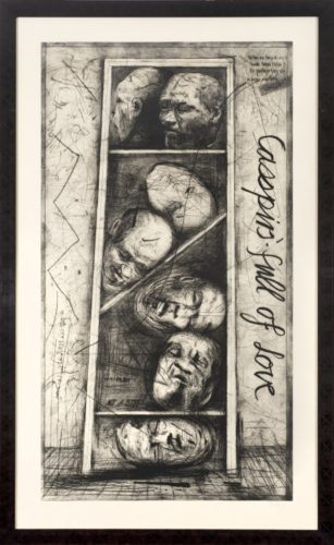 Casspirs Full Of Love by William Kentridge