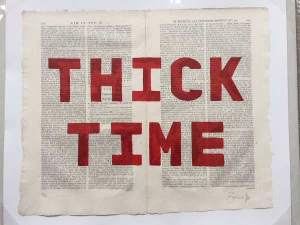 Thick Time by William Kentridge