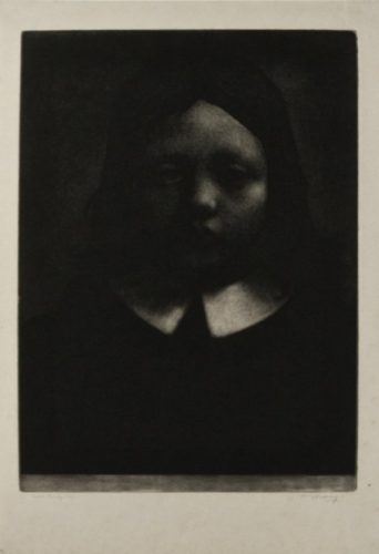 The Young Puritan by William Strang at
