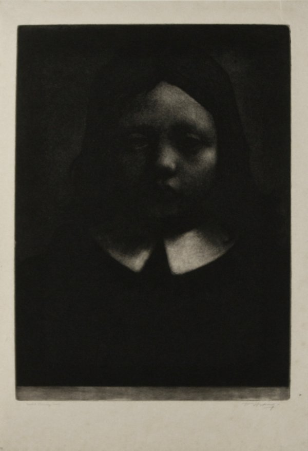 The Young Puritan by William Strang