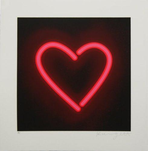 Neon Heart by William Kingett