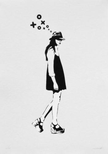 Walking Lady by XooooX at