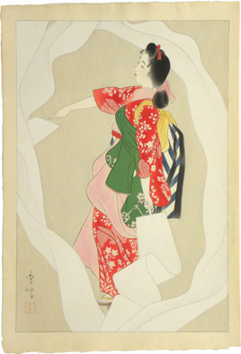 Nuno-sarashi 'cloth-bleaching' Dance by Yamakawa Shuho at
