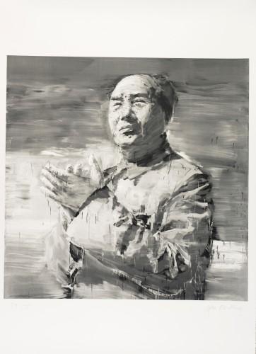 Mao by Yan Pei-Ming at