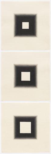 3 White Squares by Yasu Shibata at