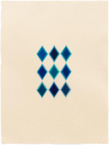 9 Blue Diamonds by Yasu Shibata at