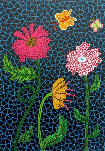 Flowers by Yayoi Kusama at