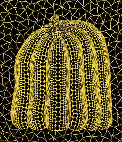 Pumpkin St by Yayoi Kusama at Lougher Contemporary