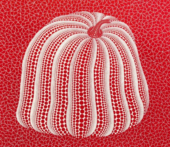 Red Colored Pumpkin by Yayoi Kusama