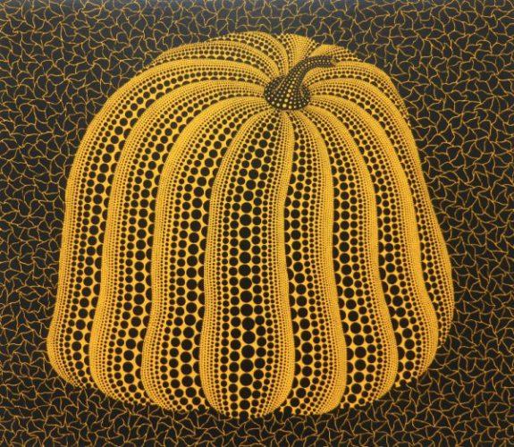 Yellow Colored Pumpkin by Yayoi Kusama at
