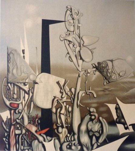 Feu A Eclat by Yves Tanguy