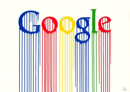 Liquidated Google by Zevs at