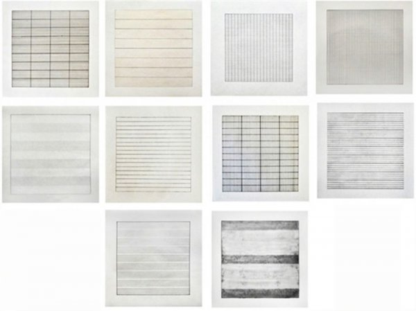 Paintings And Drawings by Agnes Martin