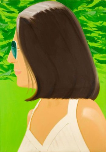 Ada In Spain by Alex Katz