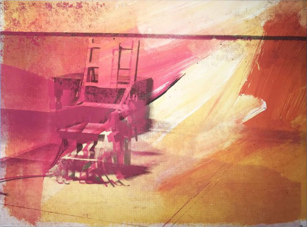 Electric Chairs Ii.81 by Andy Warhol at Hamilton-Selway Fine Art