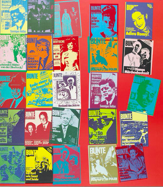 Magazine And History by Andy Warhol