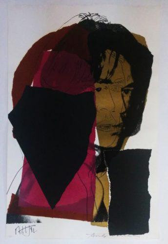 Mick Jagger Fs Ii.139 by Andy Warhol