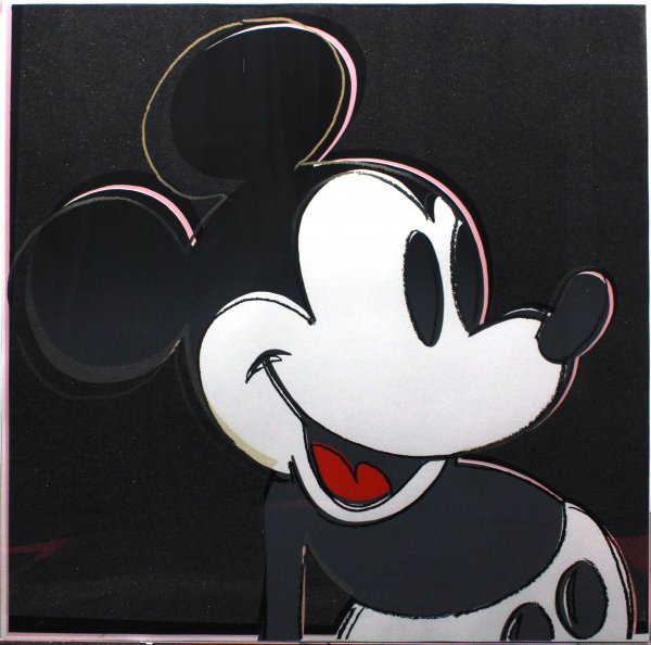 Mickey Mouse (fs Ii. 265) by Andy Warhol