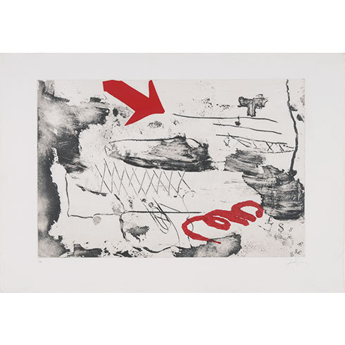 Carrer Wagner by Antoni Tapies