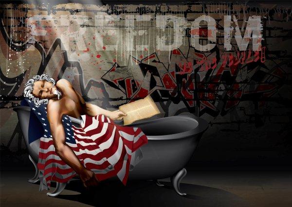 Death Of The American Dream by Booda Brand