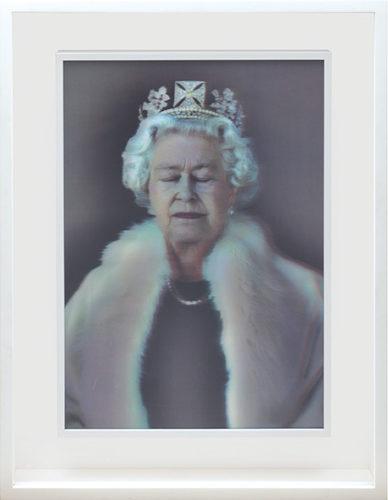 Lightness Of Being. [Queen Elizabeth II.] by Chris Levine