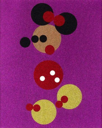 Minnie (pink Glitter) by Damien Hirst at Damien Hirst