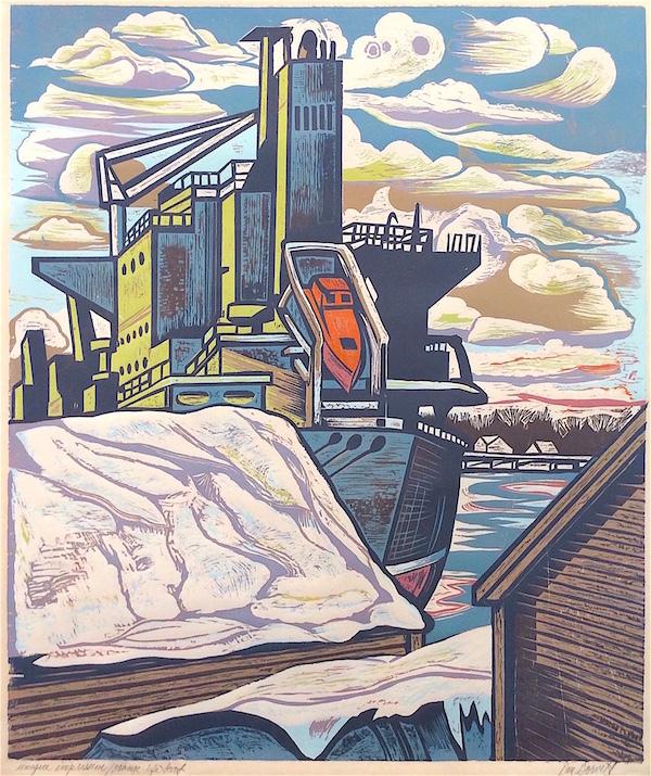 Life Boat, Merchants Row by Don Gorvett