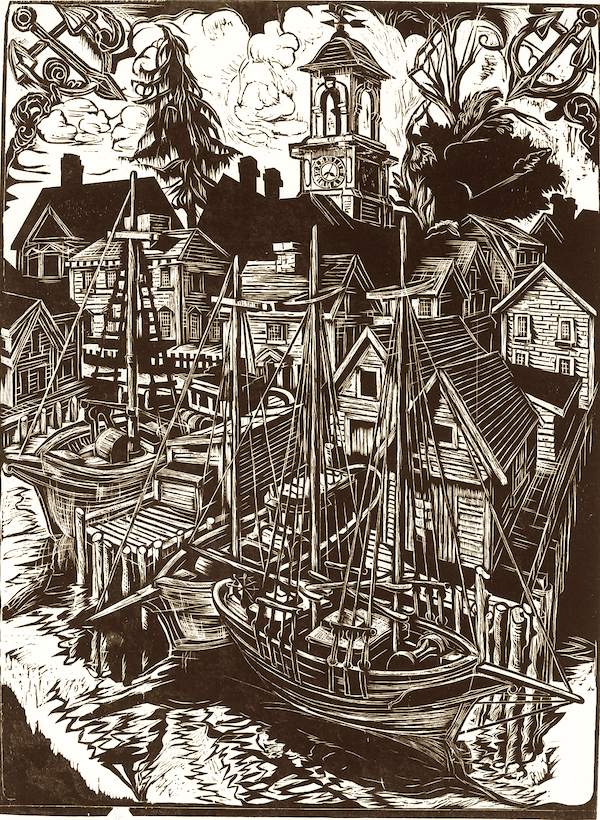 Shipyard by Don Gorvett