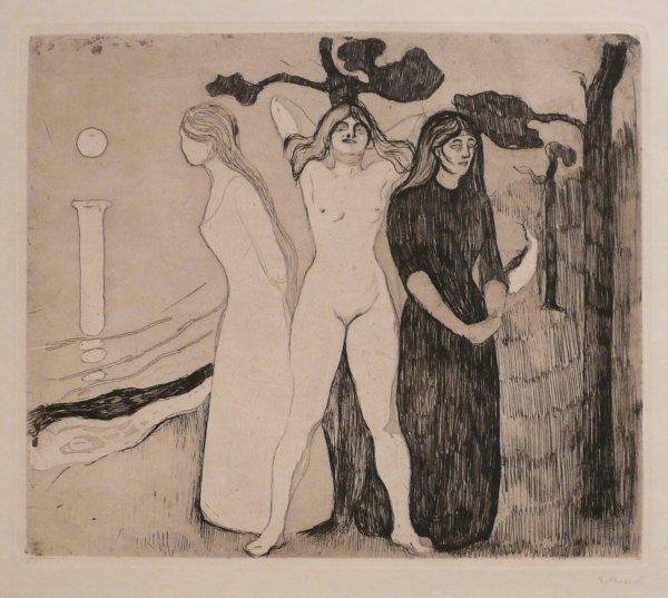 Kvinnen Ii (the Woman Ii) by Edvard Munch