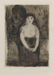 Modellstudie (study Of A Model) by Edvard Munch at John Szoke Gallery (IFPDA)
