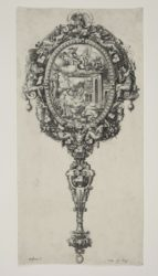 Design Of A Mirror With Medea Rejuvenating Aeson by Etienne Delaune at Sarah Sauvin (IFPDA)