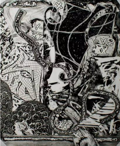 Engraving Ix by Frank Stella at Frank Stella