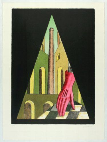 Il Guanto Rosso (l'énigme De La Fatalité) by Giorgio De Chirico