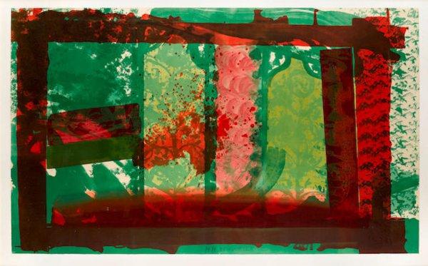 Bleeding by Howard Hodgkin at