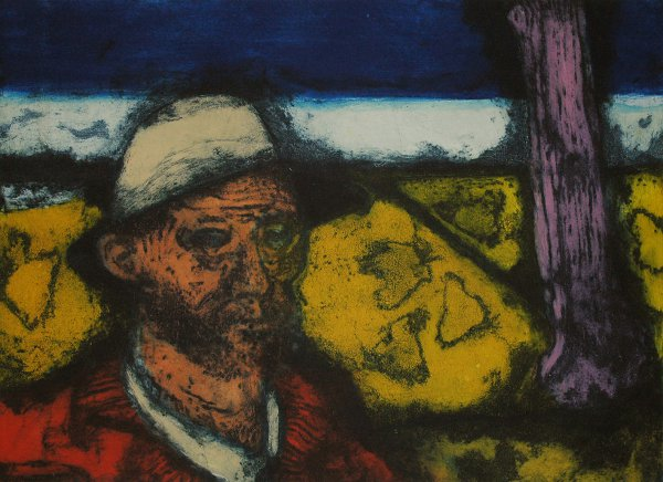 The Painter Vangogh by Hughie O'Donoghue at