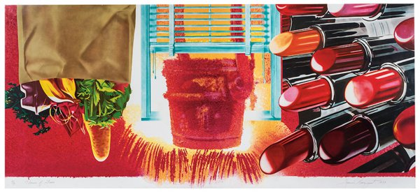 House Of Fire by James Rosenquist