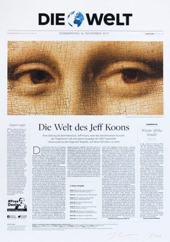 Die Welt by Jeff Koons