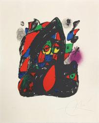 Joan Miró Litógrafo Iv (mourlot 1255) by Joan Miro at Grabados y Litografias.com