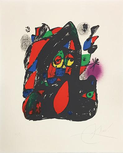 Joan Miró Litógrafo Iv (mourlot 1255) by Joan Miro