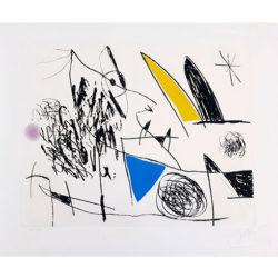 Serie Mallorca (d.617) by Joan Miro at Grabados y Litografias.com