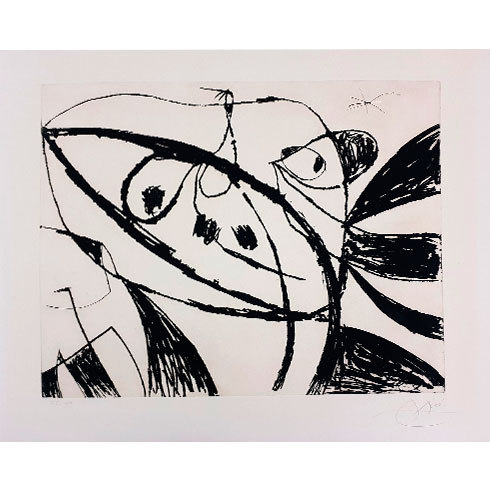 Serie Mallorca (d.631) by Joan Miro