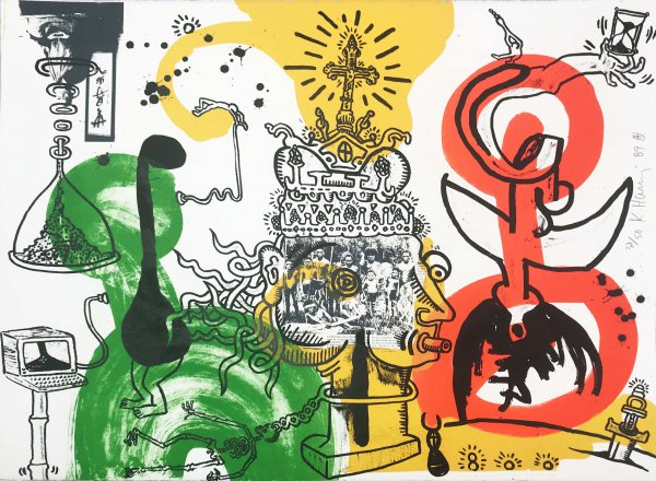 The King by Keith Haring