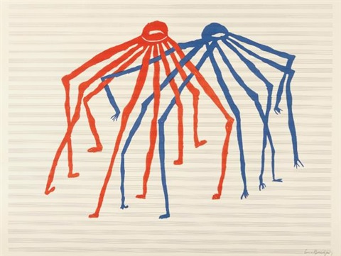 Jitterbugging Spiders by Louise Bourgeois