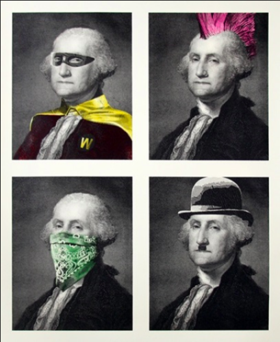 President's Day by Mr. Brainwash at Mr. Brainwash