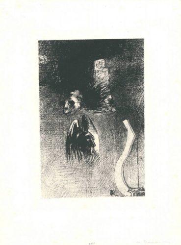La Damnation De L'artiste by Odilon Redon at