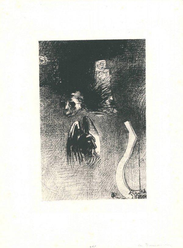 La Damnation De L'artiste by Odilon Redon