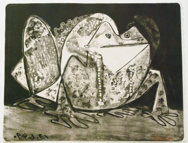 Le Crapaud by Pablo Picasso