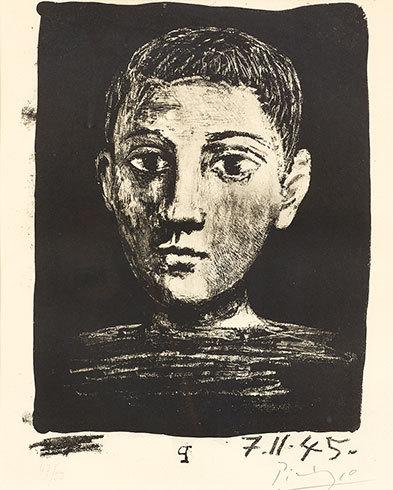 Tête De Jeune Garçon by Pablo Picasso