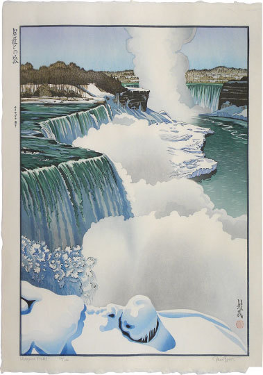 Travels With The Master: Niagara Falls by Paul Binnie