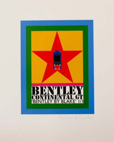Bentley by Peter Blake